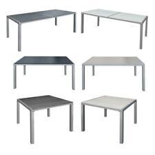 WPC Gartentisch Terrassentisch Balkontisch ALU Esstisch Tisch Holz Optik