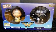 SDCC COMIC CON 2017 FUNKO DORBZ DC W.W. WONDER WOMAN AND ARES LIMITED EDITION