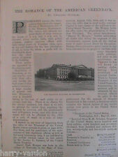 American Treasury Washington National Bank Greenback Rare Victorian Article 1895