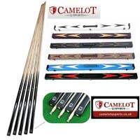 3/4 10MM SNOOKER/POOL CUE & CASE BUNDLE.. VARIOUS CASE OPTIONS