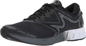 ASICS Men's Noosa FF Running Shoe, Black White/Carbon, 9 D(M) US