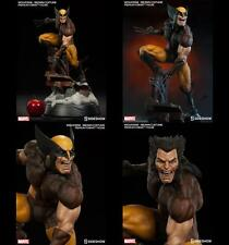 -= ] SIDESHOW - Wolverine Brown Costume Premium Format 1/4 [ =-