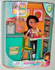 Dora's Explorer Girls - School Cafeteria Set for Ages 5+
