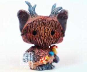 """""""Eezoe"""" Woodland Spirit Species LPS Painted Custom Figure by HelloStudios"""