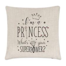 I'm A Princesse Ce Qui Est Your Superpower Lin Housse De Coussin Oreiller Drôle