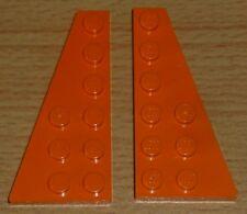 Lego Sponge Bob 2 placas alas 6 x 3 en Orange