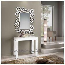 Tavolo consolle bianco allungabile frassino 3 metri Made in Italy  Produttore
