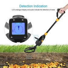 Lcd Display Underground Metal Detector Gold Digger Hunter Deep Sensitive Coil M