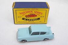 Vintage Moko Lesney Matchbox Series No 7 - Ford Anglia & Original Box