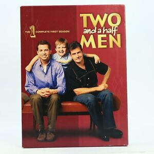 Two and a Half Men R1 Complete First Season DVD 2007 4-Disc Set Good Condition