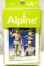 1/35 Alpine OIF US Tank Crew #1 35023