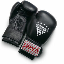 Machina Carbonado 12 Ounce Women's Leather Boxing Gloves - BLACK