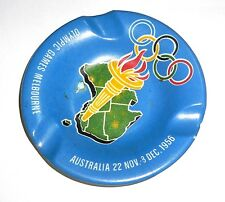 "Antique Vintage Melbourne Olympics 1956 ASHTRAY ""FREE SHIPPING""!!!!!!!"