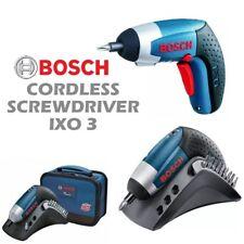 Bosch IXO III 3.6v Professional Cordless Electric Screwdriver Lithium-ion LED UK