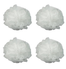 Luxury Luffa Loofah Bath Sponge On A Rope, Color May Vary (4 Pack)