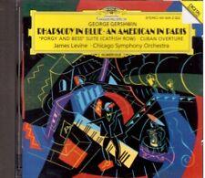 Gershwin: RapsodIA In Blue, Un Americano a Parigi, Etc / Levine, Chicago So - CD