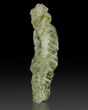"""2"""" Clear Pale Green Stack of HOLLOW APATITE Crystals Sapo Mine Brazil for sale"""