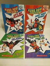Branches KUNG POW CHICKEN, complete series, books 1-4 scholastic