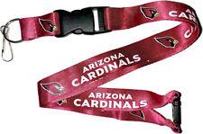 Arizona Cardinals Break Away Lanyard with Double Sided Logo/Graphics