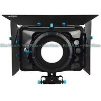 FOTGA DP3000 Matte Box Sunshade for 15mm Rod DSLR Rail Rig +Donuts +Filter Trays