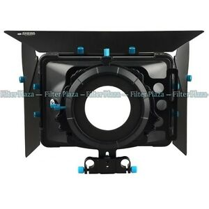 FOTGA DP3000 Matte Box Sunshade for 15mm Rod DSLR Rail Rig +Donuts +Filter Trays