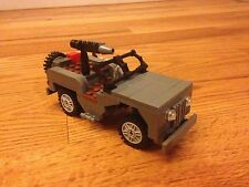 Lego World War II Willys Jeep Custom WWII Army Jeep Set