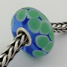 Authentic Trollbeads Ooak Murano Glass Unique Bead #74 Charm, New
