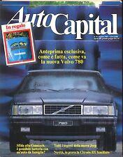 AUTO CAPITAL N. 8 AGOSTO 1985
