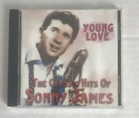 SONNY JAMES YOUNG LOVE THE CLASSIC HITS  CD 1997 Razor And Tie