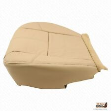 2007 2008 Chevy Suburban 2500 Driver Replacement Bottom Leather Seat Cover Tan