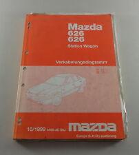 Werkstatthandbuch Mazda 626 Station Wagon Kombi Elektrik / Schaltpläne,10/1999