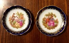 LIMOGES SET OF TWO MINI PLATES