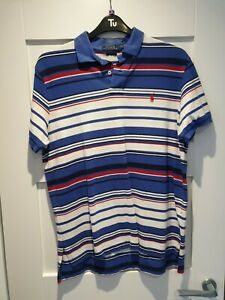 Mens Polo Ralph Lauren Custom Fit Size L/G