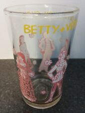 Vtg 1971 Comic Book Characters Betty & Veronica Fashion Show Drinking Glass