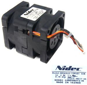 40 MM Fan Cooler Fan 40x40x56 MM Nidec DR04XLG-12PUS1 Dauerbetreib #LL81