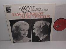 1C 063-01 915M Hugo Wolf Recital 1953 Elisabeth Schwarzkopf Wilhelm Furtwangler