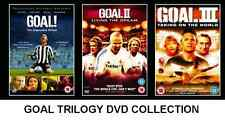 GOAL TRILOGY DVD TRIPLE PACK PART 1 2 3 FOOTBALL MOVIE FILM Brand New Sealed UK