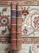 1779 TWO VOLUME Study of J. F. MARTINET'S KATECHISMUS DER NATUUR by J. De Vries