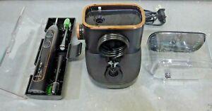 Waterpik Sonic Fusion Toothbrush & Water Flossier Combo, Black