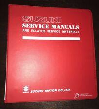 1983 Suzuki GS-550 GS5000 OEM Service Repair Manual 99500-35010-03E ES L