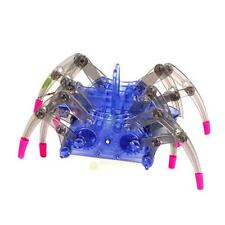 Puzzle Electric Spider Robot Toy DIY Educational Assembles Christmas Toys Kits