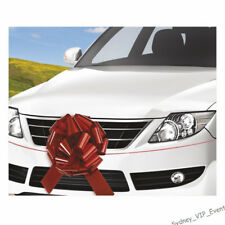 NEW CAR LARGE GIFT GIANT RED CAR BOW RIBBON 45cm DECORATION PARTY SUPPLIES