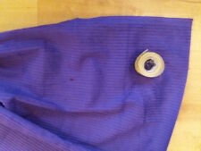 1 Metre PURPLE, Cotton Jumbo  Corduroy  Fabric 112 cms - 6 Wale