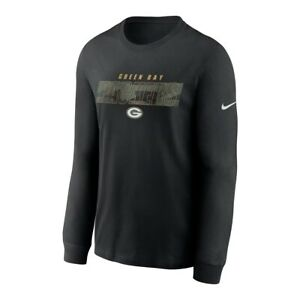Green Bay Packers Men's Nike Long Sleeve Playbook Tee - NWT - FREE SHIPPING!