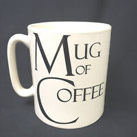 Jumbo Large Oversize Mug Of Coffee Create By Just Mugs Designed In England