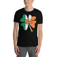 Vintage IRA Cute St Patrick's Day Irish Shamrock Ireland Flag Army Pride T-Shirt