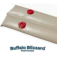 Buffalo Blizzard 1' x 8' Tan 18 Gauge Water Tube For Swimming Pool Winter Covers