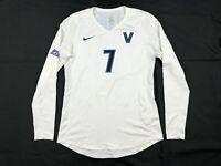 Villanova Wildcats Nike Long Sleeve Jersey Women's White Used Multiple Sizes