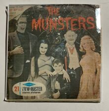 View-Master THE MUNSTERS (B481) 3 Reel Set + Booklet