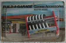 MEGA RARE SCALEXTRIC Build-a-garage accessoires Coffret Dunlop Racing Parts